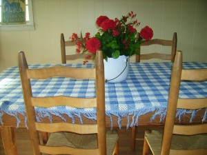 Keep it simple for overnight guests