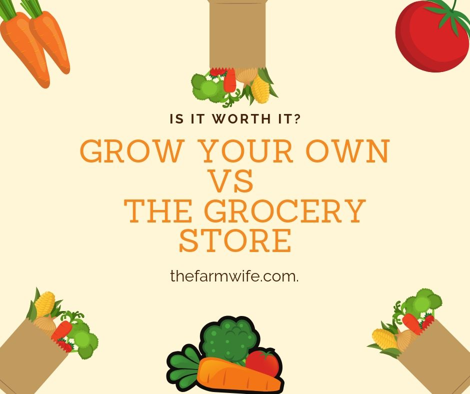 grow your own vs. store bought