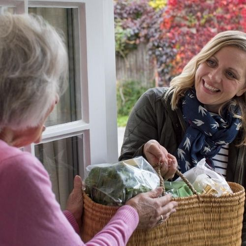 offer a helping hand to neighbors in need