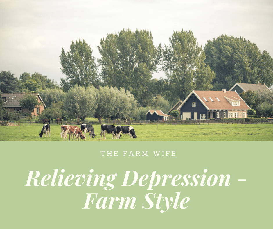Relieving Depression - Farm Style