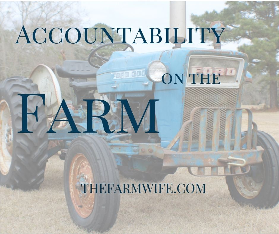 Accountability on the Farm