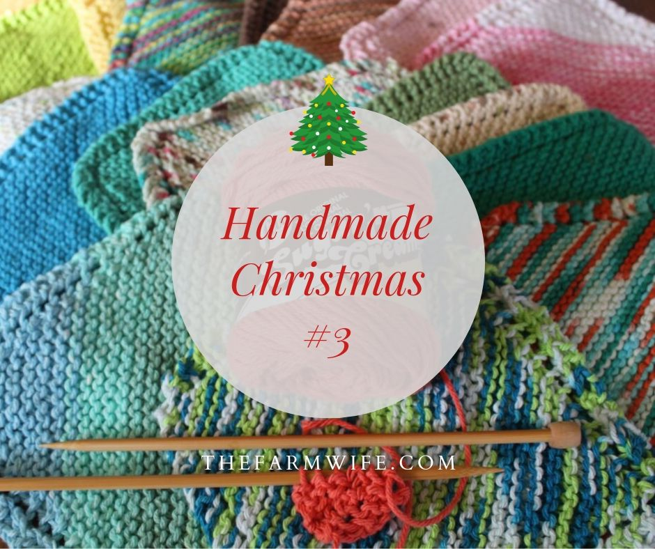 Handmade Christmas # 3 - Knitted Dishcloths