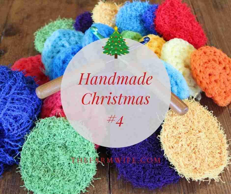 Handmade Christmas #4 - Pot Scrubbers