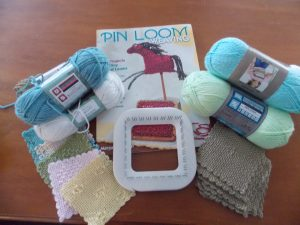 Start small - stretch your wings with Pin loom weaving