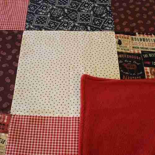 Handmade Christmas Gifts can be made with beautiful fabrics