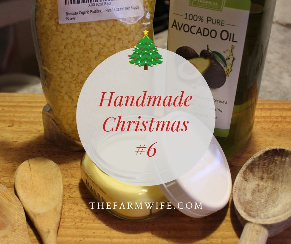 handmade christmas #6 - wooden spoon butter