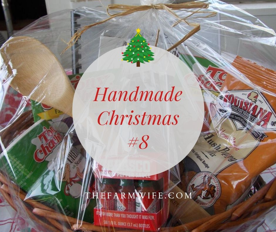 Handmade Christmas #8 - Gift Baskets