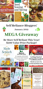 Self Reliance Bloggers Mega Giveaway