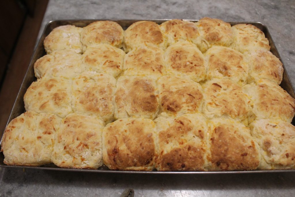 Baking Biscuits - A Southern Delicacy