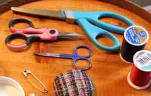 assorted scissors