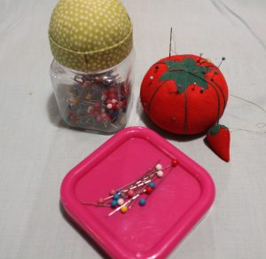 assorted pincushions