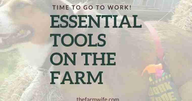 Essential Tools on the Farm