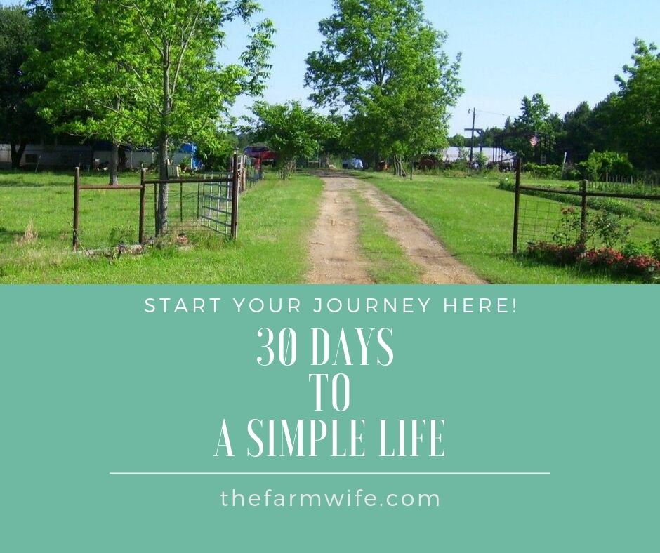 30 Days to a Simple Life