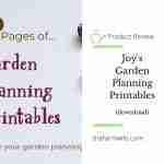 Joy's Garden Printables