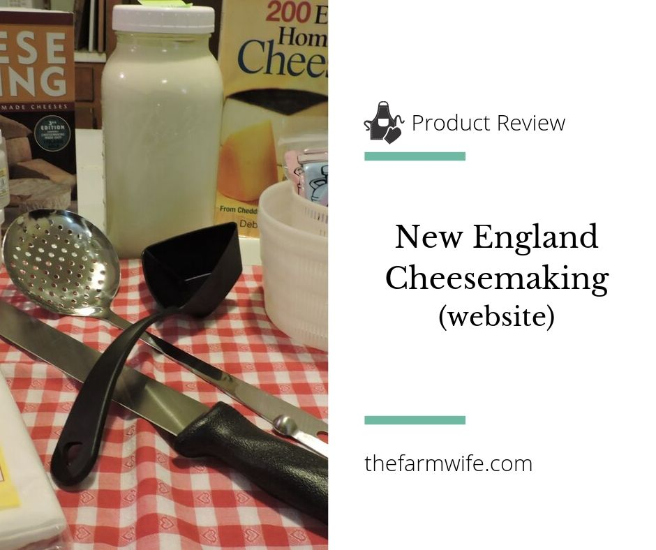 New England Cheesemaking
