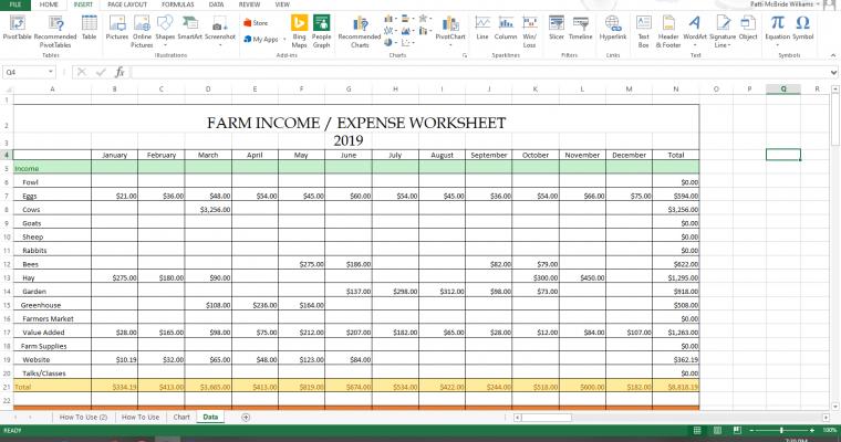 Homesteading & Small Farm Accounting