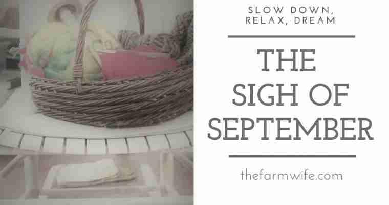 The Sigh of September
