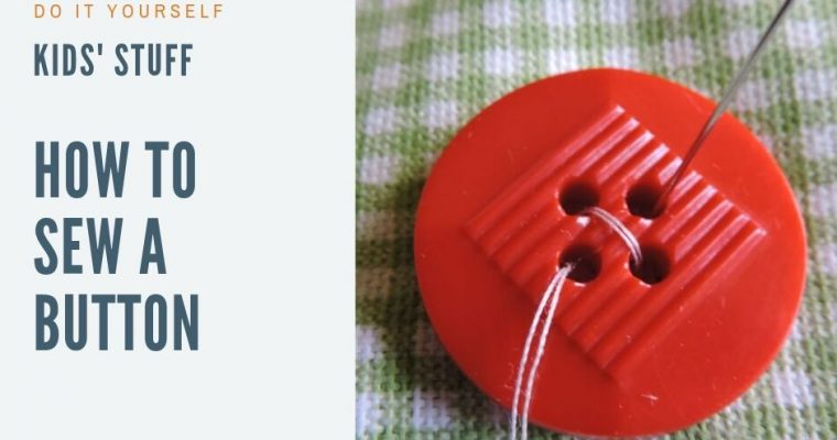 How to Sew a Button