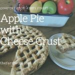 Apple Pie with Cheese Crust - Comfort Food at it's Best!