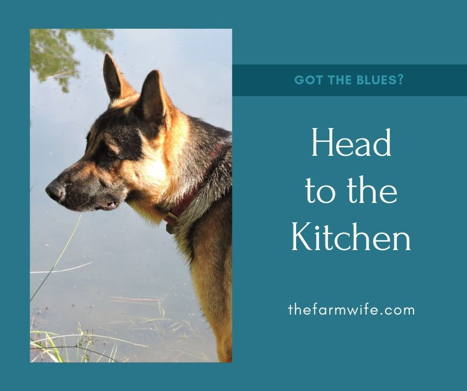 Got the Blues? – Time to Head for the Kitchen
