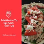Strawberry Spinach Roll Up