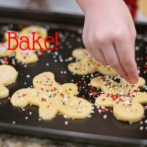Create New Traditions - Bake Cookies!