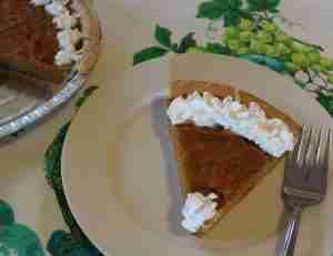 Create New Traditions - Sweet Potato Pie