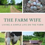 The Farm Wife Living a Simple Life on the Farm Book