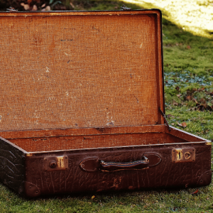 Suitcase for your journey to a Simple Life