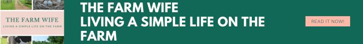 The Farm Wife Living a Simple Life on the Farm Banner