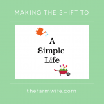 Shifting to a Simple Life - An Exciting Adventure!