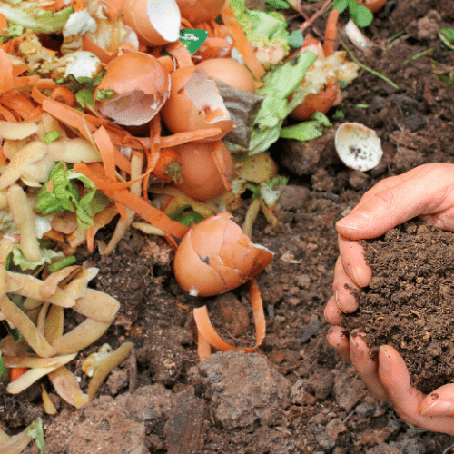 add compost to every garden