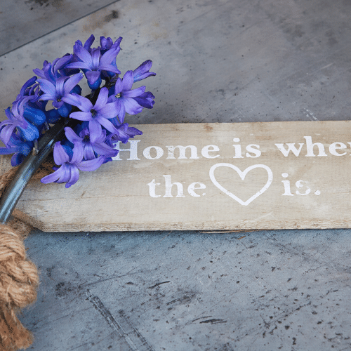 a welcoming feel to a home