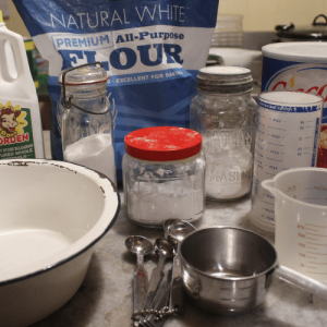 Baking Biscuits requires the freshest ingredients