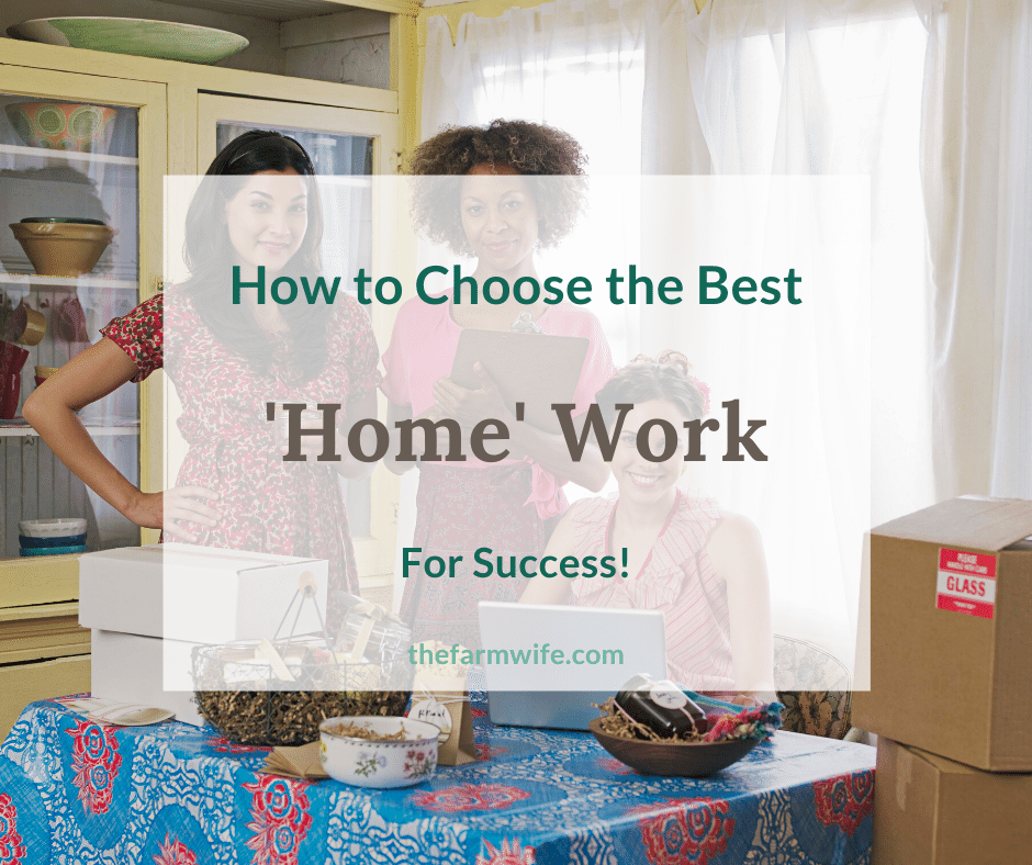 Choosing the Best Home Business for You