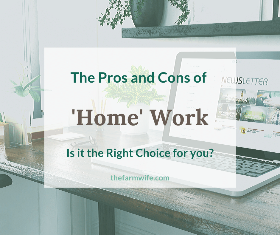 How to choose the best 'home' work for you