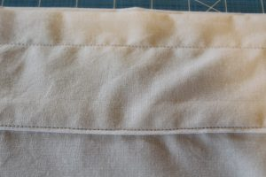 sewing a 'ruffle' on your easy breezy curtains