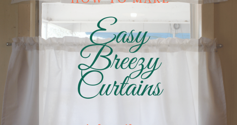 Sew Simple! Easy, Breezy Curtains to Make