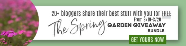Spring Garden Giveaway 2020