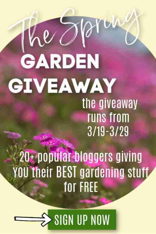 Spring Garden Giveaway