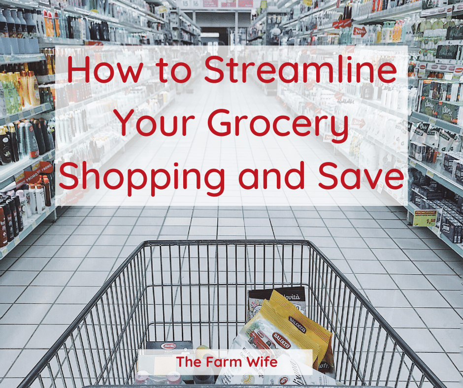 Streamline your Grocery Shopping and Save