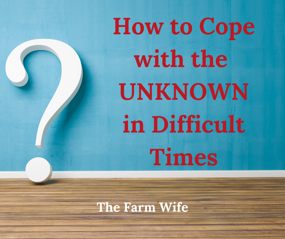 How to Cope with the UNKNOWN