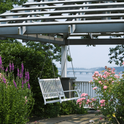 A Simple Garden Sanctuary