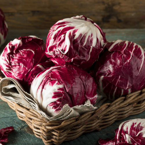 Pink radicchio? Deliciousness in Italian vegetables!