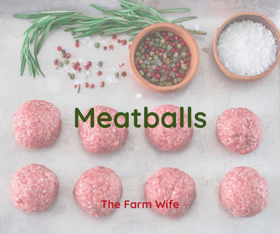 Easy & Delicious Meatballs
