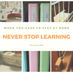 Stay at Home Survival - Never Stop Learning