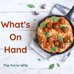 What's on Hand?