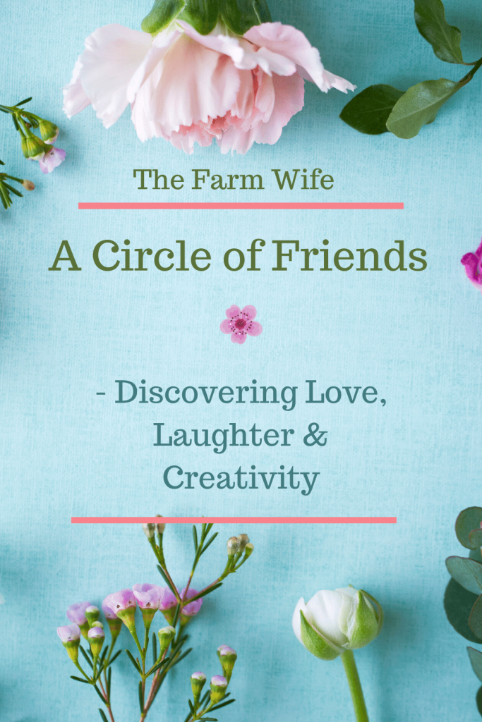 Discover more love, laughter and creativity through gathering with a circle of friends