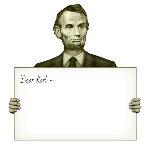 Abraham Lincoln had a Penpal