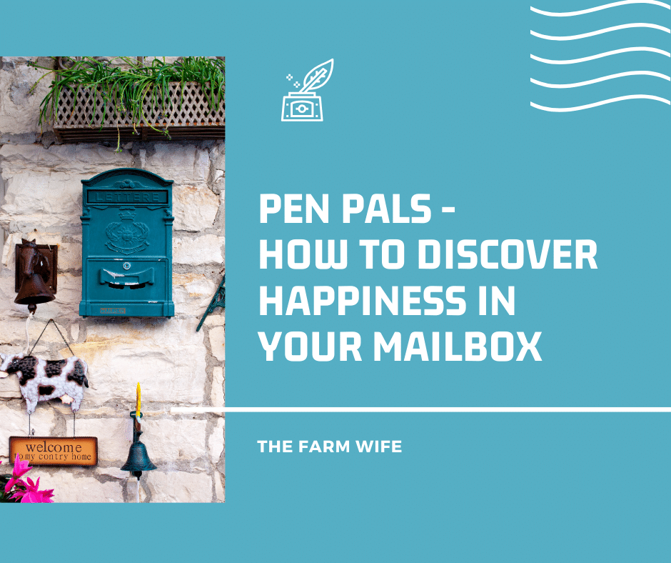 Discover Happiness in the mailbox with Penpals
